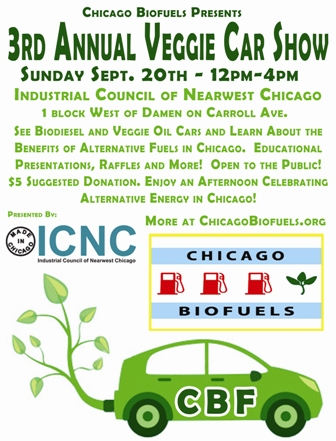 Chicago 3rd Annual Veggie Car Show!