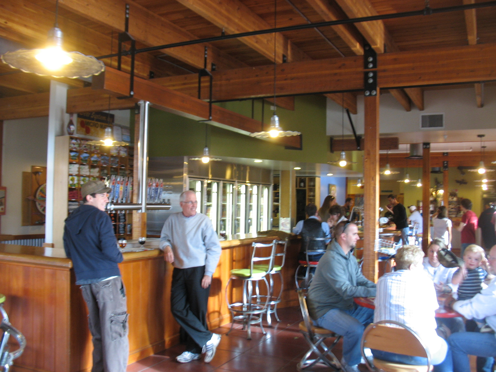 New Belgium Tasting Room